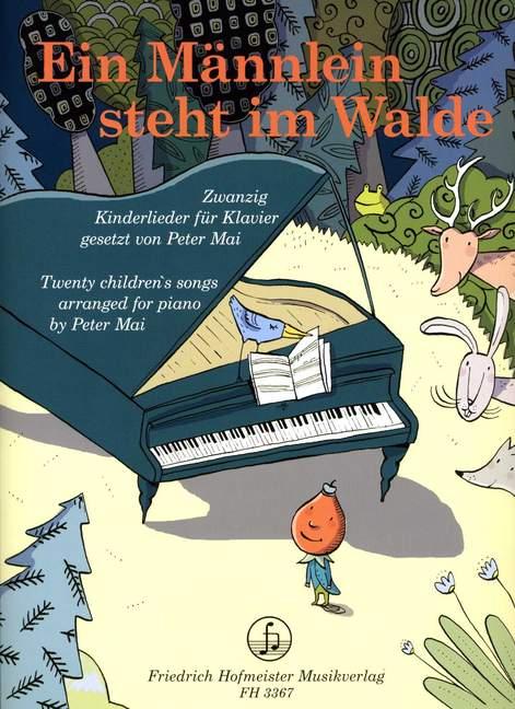 Ein-Mannlein-steht-im-Walde-Zwanzig-Kinderlieder-piano-9790203433675